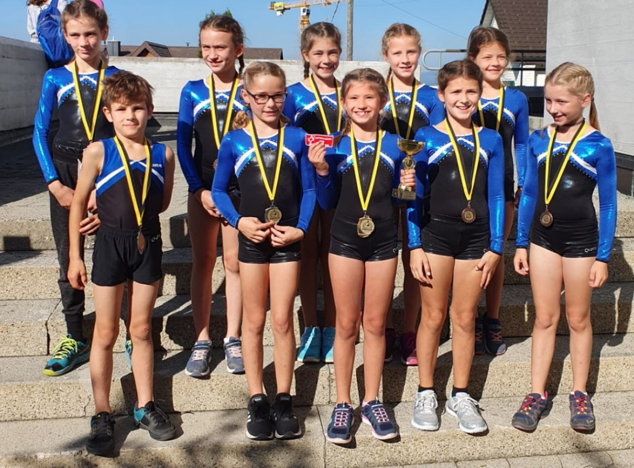 GETU Jugend 5x Kantonal Meistertitel In Wollerau 21. September 2019